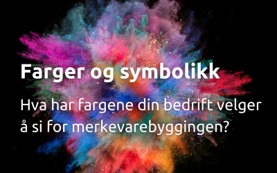 Farger og symbolikk i merkevarebygging – 13 eksempler