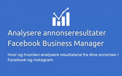 Analysere Resultater fra Facebook Annonser – 4 enkle trinn