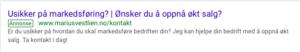Betalt annonsering på Google